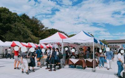 藝祭2018・アートマーケット(上野公園・噴水広場)