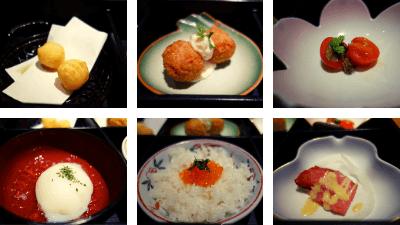 池袋・彩蔵ランチ「蕎麦御膳 松花堂+手打ち蕎麦」980円