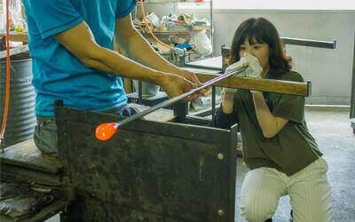 【東京ものづくり】杉並区・吹きガラス体験