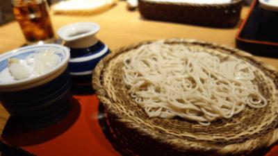 池袋・彩蔵ランチの手打ち蕎麦