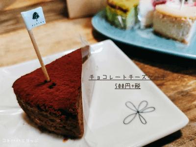 チョコレートチーズケーキ|anzu to momo(アンズトモモ)