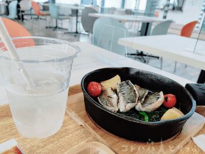 【横浜・八景島シーパラダイス】「うみファームキッチン」アジグリル