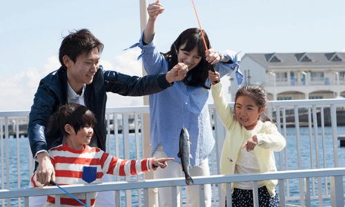 うみファーム・魚釣り(フィッシャーマンズオアシス)【横浜・八景島シーパラダイス】