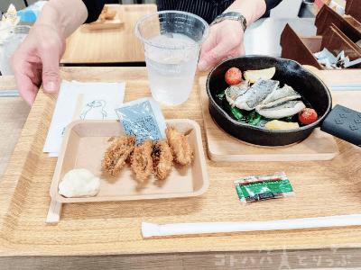 【横浜・八景島シーパラダイス】「うみファームキッチン」アジフライ&グリル